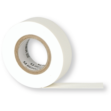 Isolatietape Premium 19 mm x 20 mtr wit